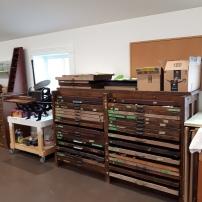 Letterpress cabinets
